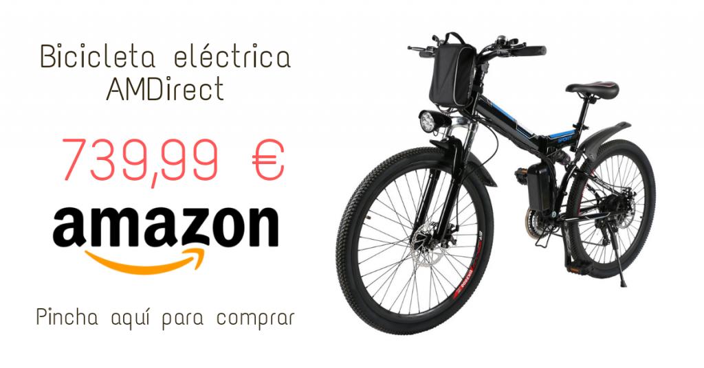Bicicleta eléctrica AMDirect