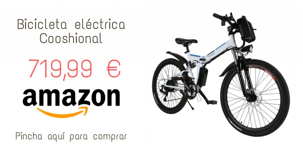 Bicicleta eléctrica Cooshional
