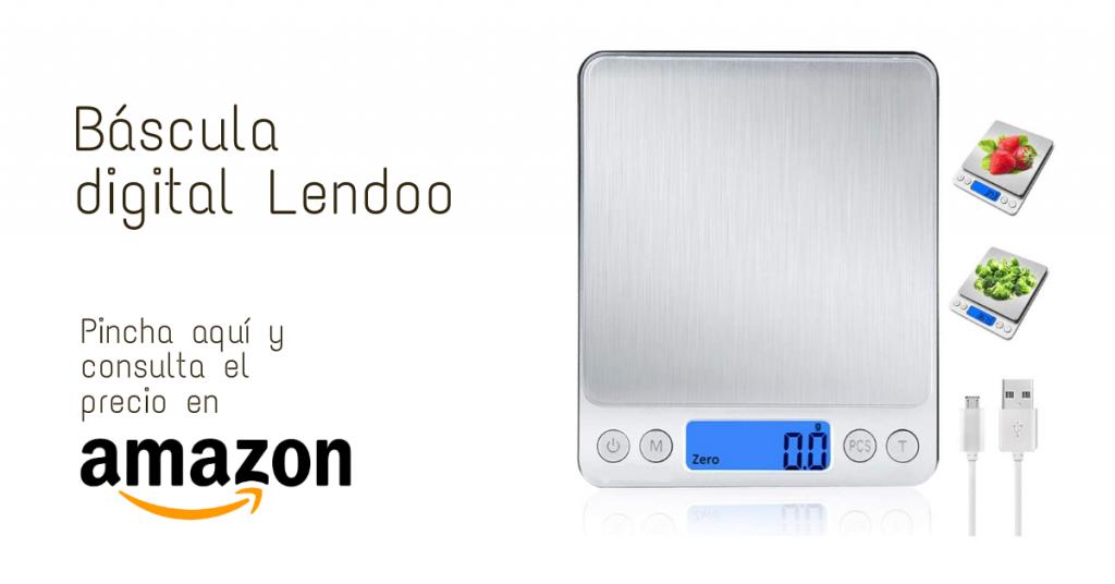 Báscula digital para cocina Lendoo